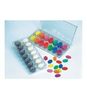 K7352-93 KIT LIGADURAS ELASTICAS COLOR